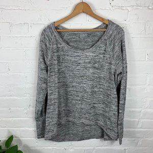 Athleta Thermal Top Long Sleeve Boat Neck Size XL